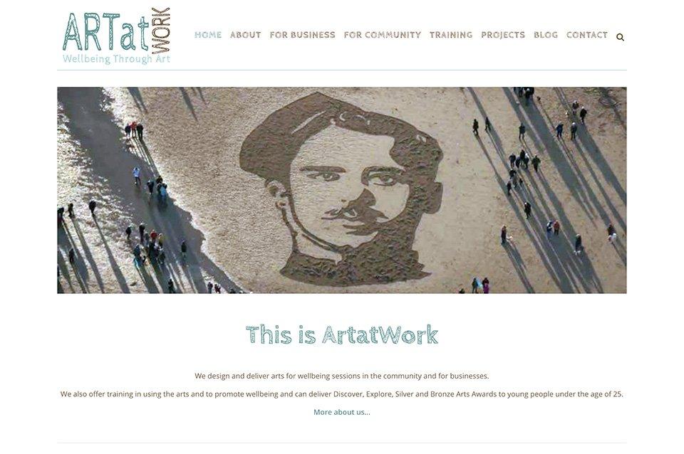 Art at Work website.