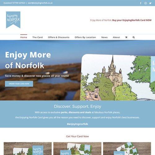 Enjoying Norfolk website.