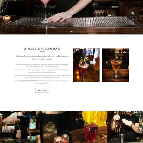 Chambers Cocktail Company.