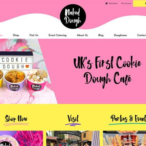 Naked Dough's website.