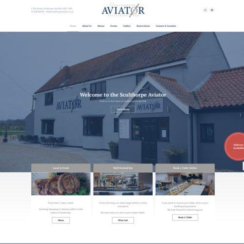 Sculthorpe Aviator website.